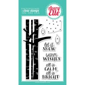 LET IT SNOW Clear Stamp Set from Avery Elle