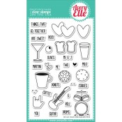 WE GO TOGETHER Clear Stamp Set from Avery Elle