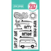 SURF'S UP Clear Stamp Set from Avery Elle