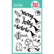 NORTH POLE Clear Stamp Set from Avery Elle