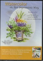 WATERCOLOR THE ART IMPRESSIONS WAY DVD from Art Impressions