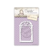 **PREORDER** Magnolia DooHickey Cutting Dies - HEART WINDOW Die Animal Of The Year Collection