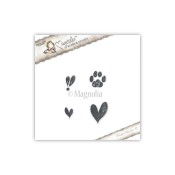 ANIMAL LOVE KIT Cling Rubber Stamp Animal of the Year Collection from Magnolia