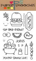 ALFRESCO Clear Stamp Set from Paper Smooches
