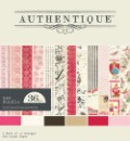 LOVELY 6x6 Scrapbook Patterned Paper Pack from Authentique