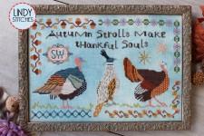 AUTUMN STROLLS Cross Stitch Pattern by Lindy Stitches