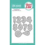 NUMBERED BALLOONS Elle-Ments Die Set from Avery Elle