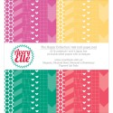"""HAPPY COLLECTION Double-Sided 6""""x6"""" Scrapbook Paper Pad from Avery Elle"""