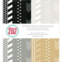 """NEUTRAL COLLECTION Double-Sided 6""""x6"""" Scrapbook Paper Pad from Avery Elle"""
