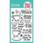 TEA TIME Clear Stamp Set from Avery Elle