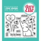ELLIE Clear Stamp Set from Avery Elle