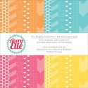"""BRIGHTS COLLECTION Double-Sided 6""""x6"""" Scrapbook Paper Pad from Avery Elle"""