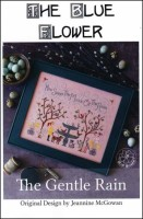 THE GENTLE RAIN Counted Cross Stitch Pattern from The Blue Flower