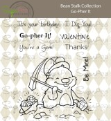 **PREORDER** New! GO-PHER IT Clear Stamp Set Bean Stalk Collection from SugarPea Designs