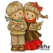CHRISTMAS SONG Rubber Stamp from Bildmalarna