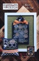 Chalk Full Series - BOO CHALK FULL Cross Stitch Pattern from Hands On Design