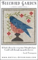 BLUEBIRD GARDEN Cross Stitch Pattern from Artful Offerings