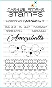 **PREORDER** AMAZEBALLS Clear Stamp Set from Cas-ual Fridays Stamps