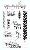 **PREORDER** BEANSTALKS Clear Stamp Set from Cas-ual Fridays Stamps