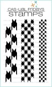 **PREORDER** HOUNDSTOOTH Clear Stamp Set from Cas-ual Fridays Stamps