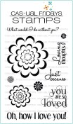 **PREORDER** LOVING THOUGHTS Clear Stamp Set from Cas-ual Fridays Stamps