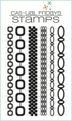 **PREORDER** LOTSA LINKS Clear Stamp Set from Cas-ual Fridays Stamps