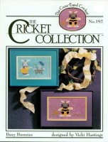 BUSY BUNNIES The Cricket Collection Cross Stitch Pattern from the Cross Eyed Cricket
