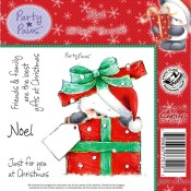 New! NOEL Rubber Stamp Set Party Paws Collection from Crafter's Companion