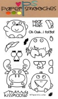 CHUBBY CHUM PALS Clear Stamp Set from Paper Smooches
