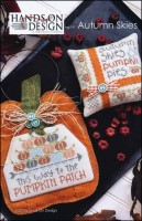 AUTUMN SKIES Cross Stitch Pattern from Hands On Design
