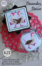 Limited Edition DECEMBER DANCE DELUXE KIT by Lindy Stitches