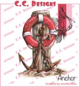 ANCHOR Rubber Stamp DoveArt Studio Collection from C.C. Designs