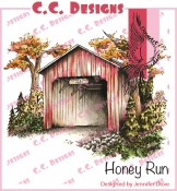HONEY RUN Rubber Stamp DoveArt Studio Collection from C.C. Designs