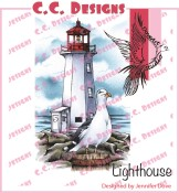LIGHTHOUSE Rubber Stamp DoveArt Studio Collection from C.C. Designs