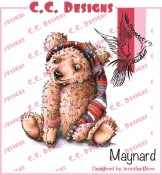 MAYNARD Rubber Stamp DoveArt Studio Collection from C.C. Designs