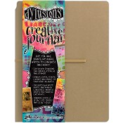 "DYLUSIONS CREATIVE JOURNAL 9""x12"" Dyan Reaveley Dylusions Collection from Ranger"