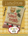 Jingles Series - SILENT NIGHT Cross Stitch Pattern from Lizzie Kate