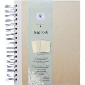 "CREAM ARTIST EDITION SPIRAL BRAG BOOK 7""x9"" from Fancy Pants"