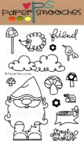 FOREST WHIMSY Clear Stamp Set Kismet Collection from Paper Smooches