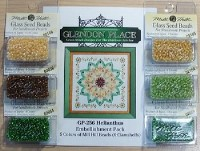 HELIANTHUS THE SUNFLOWER MANDALA MILL HILL BEADS EMBELLISHMENT PACK from Glendon Place