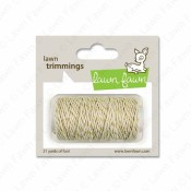 GOLD SPARKLE SINGLE CORD Hemp Twine from Lawn Fawn