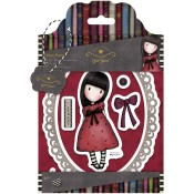 THE BLACK STAR Cling Rubber Stamp Set Gorjuss Urban Stamps from Docrafts