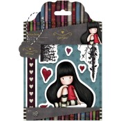 THE COLLECTOR Cling Rubber Stamp Set Gorjuss Urban Stamps from Docrafts