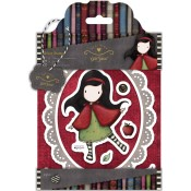 LITTLE RED Cling Rubber Stamp Set Gorjuss Urban Stamps from Docrafts