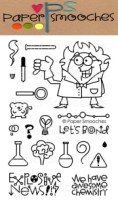 GREAT CHEMISTRY Clear Stamp Set from Paper Smooches