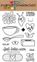HEALTHY VIBES Clear Stamp Set Kismet Collection from Paper Smooches