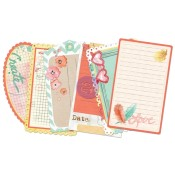 "BLOOM JOURNALING NOTECARDS 3""x5"" Bloom Girl Collection from Prima Marketing"