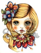 New! LAILA Rubber Stamp Dollhouse Collection from Little Darlings Rubber Stamps LDRS