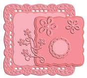**PREORDER** DARLING SQUARE Designer Die Set from Little Darlings Rubber Stamps