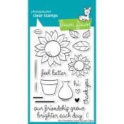 OUR FRIENDSHIP GROWS Clear Stamp Set from Lawn Fawn